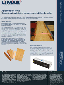 Application Note Floor Production